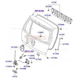 Cilindros de soporte del vidrio - 2PACK