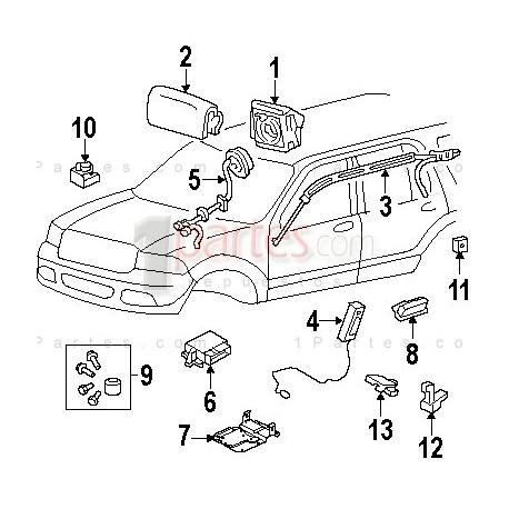 Sensor de impacto ford f150