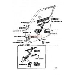 Regulador de ventana derecho (copiloto)